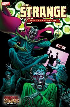 Did you see these Marvel Zombies variant covers coming in April? Dr Marvel, Marvel Comic Books, Comic Books Art, Marvel Comics, Book Art, Mark Waid, New Zombie, Comic Art Community, Vintage Comic Books