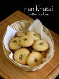 nankhatai recipe   nan khatai biscuits recipe   indian cookies recipe - http://hebbarskitchen.com/nankhatai-recipe-nan-khatai-biscuits/