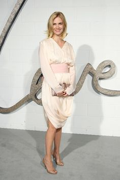 January Jones Photos: Chloe LA Boutique Opening Party