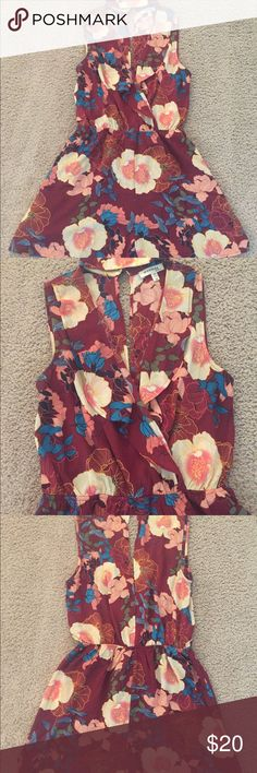 38c7d8a57897 Floral Romper Floral romper with fuffle detail. Monteau Other