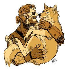 Big boss and D dog