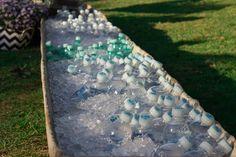 Água geladinha para receber seus convidados!
