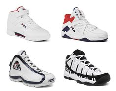 Who remembers the Grant Hill's?  Fila Cage, F-13, 96 – Spring 2013