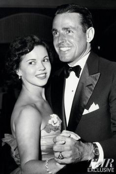 Shirley with her second husband, Charles Black
