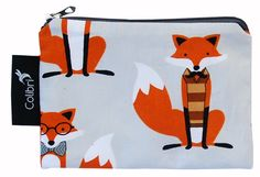 fox snack (or anything) baggie- small