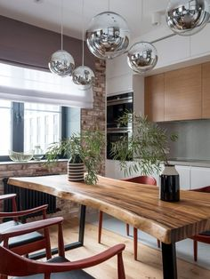Living Room Kitchen, Living Room Decor, Minimalist Dining Room, Small Apartments, Traditional House, Apartment Living, Luxury Homes, Sweet Home, Dining Table