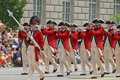 Fourth of July Parade in Washington D.C.