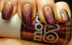 #2 MERCURY: Models Own pinky Brown (Oh No, Not Another Nail Art Blog!...)