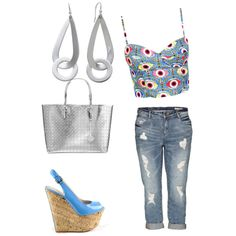Designer Clothes, Shoes & Bags for Women Summer 2014, Spring Summer, Gianmarco Lorenzi, Italian Shoes, Blue Shoes, Baby Blue, Cork, Patent Leather, Platform