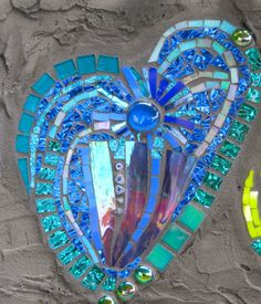 Mosaic art by kat gottke         #mosaic #art