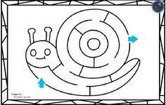 Colección de laberintos, para mejorar la atención Hemos recopilado varios laberintos para trabajar la atención y la lateralidad. Os dejamos nuevas fichas para trabajar la atención, consistente en laberintos. Iremos de los más sencillos...