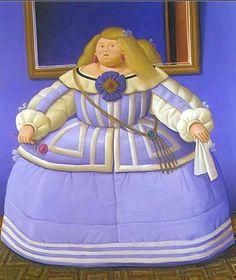 Fernando Botero, d'après Velázquez - 2005