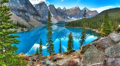 Moraine Lake, Banff National Park jigsaw puzzle in Great Sightings puzzles on…