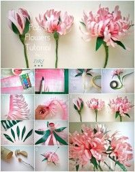 How to DIY Beautiful Paper Chrysanthemums