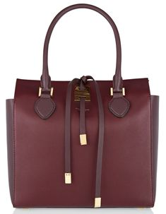 0e39b0e940 Sac à main en cuir marron, bordeaux, Michael Kors Collection cadeaux de  noel Escarpins