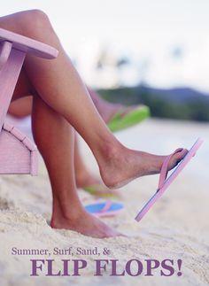 Summer, Surf, Sand.... and Flips Flops!