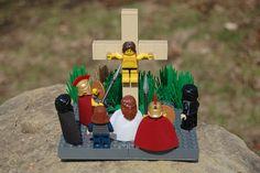 Lego Easter Scene