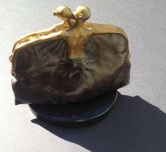 Purse Bronze Sculpture HC 1/10 2005 by Vladimir Kush
