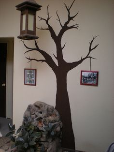 I painted a living room tree!
