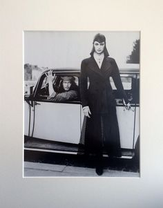 Mounted Karl Lagerfeld Vogue Clipping  : British Vogue September 1993 Advert by onceavogue on Etsy