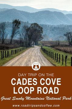 Cades Cove is one of the most-visited destinations in the Great Smoky Mountains National Park. This day trip guide on the Cades Cove Loop Road will show you how to get there, what to do once you're there, and a handy map to point everything out. Gatlinburg Vacation, Tennessee Vacation, Nashville Tennessee, East Tennessee, Gatlinburg Tennessee, Townsend Tennessee, Pigeon Forge Tennessee, Nashville Trip, Smoky Mountains Tennessee