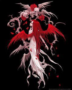 Angel skull head Diy diamond painting diamond embroidery cross stitch drill diamond home decoration Art Visionnaire, Art Noir, Gothic Fairy, Love Fairy, Beautiful Fairies, Angels And Demons, Dark Angels, Angel Art, Fairy Art