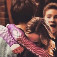 Awwwww!!!! It looks like Maya is crying in Josh's arms. I love how Josh is just making her feel better!!! Hahahaha!!! Lucas's face!!! Sorry buddy, Lucas you don't belong with her!!! Maya & Josh belong together!!!