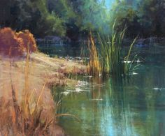 Quiet Allure by Kim Lordier Pastel ~ 20 x 24