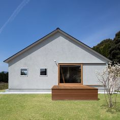 TMH Loves Small House Design, Dream Home Design, Architecture Details, Interior Architecture, Japanese House, Facade House, Modern Buildings, Floor Design, Architect Design