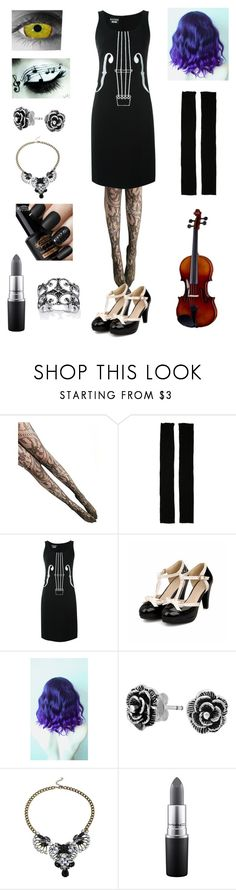 """Random Creepypasta Character #30"" by ender1027 ❤ liked on Polyvore featuring Rick Owens, Boutique Moschino, Bling Jewelry, MAC Cosmetics and Palm Beach Jewelry"