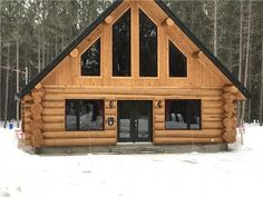 A body cabins Le Couvreur des bois is a top quality log cabin.
