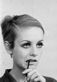 Twiggy. Photo: Burt Glinn.