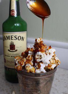 Jameson caramel popcorn.