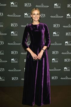 Diane Kruger In Alberta Ferretti & Jaeger-LeCoultre