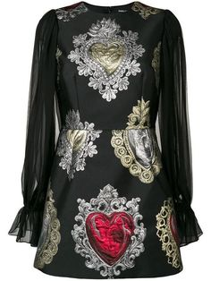 Dolce & Gabbana Women Short Dress on YOOX. The best online selection of Short Dresses Dolce & Gabbana. YOOX exclusive items of Italian and international designers - Secure payments Kpop Fashion, Fashion Outfits, Womens Fashion, Dress For Short Women, Short Dresses, Dress Design Sketches, Baroque Fashion, Diana, Italian Fashion