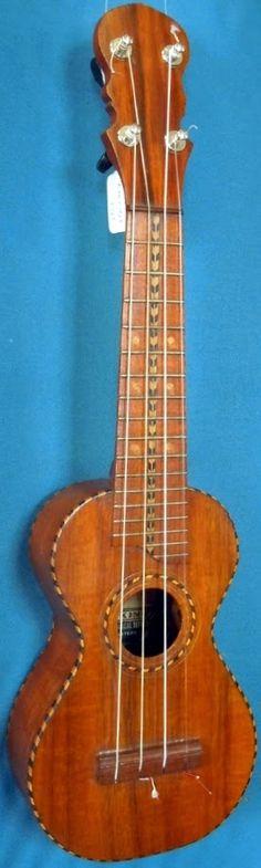 Tone King (New York Band Instrument Co) Soprano Ukulele ---https://www.pinterest.com/lardyfatboy/ ~