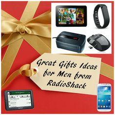 Great Gift Ideas for Men from #RadioShack. #sponsored #MC