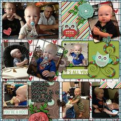 Made with MM Designs Here is the Party V1 Templates http://store.gingerscraps.net/Here-is-the-party-v1.html