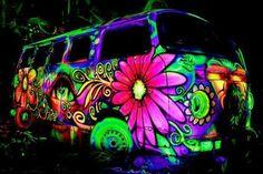 neon goodtimes van!