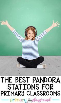 The Best Pandora Stations For Primary Classrooms #classroommusic #music #kindergarten #firstgrade #secondgrade