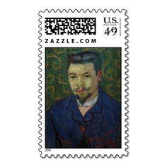 Doctor Felix Rey by Vincent Van Gogh Postage
