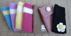 I have used this idea to crochet my own cell phone covers and add my own style, ideas, and designs to it :)