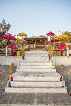 ginger ibiza sunset restaurant white ibiza - Beach Style Restaurant 2016