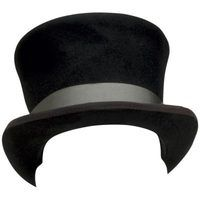 Top hats were everyday hats in the 19th century.