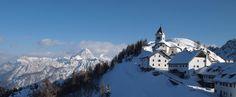 Monte Lussari | 28 pueblos en Italia que no creerás que existan realmente