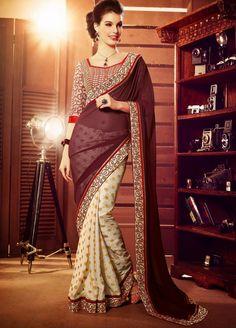 Fashion: Rapturous Half N Half Sarees