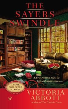 The Sayers Swindle (A Book Collector Mystery) by Victoria Abbott, http://www.amazon.com/dp/B00BTRDIWU/ref=cm_sw_r_pi_dp_JKnitb1QHDCVJ
