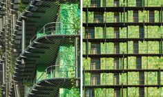 Maison Edouard François designed the M6B2 Tower of Biodiversity in Paris to spread seeds throughout the city.