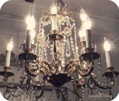 Grand Crystal Chandelier-