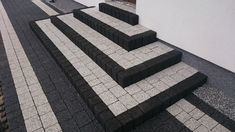 Outdoor Steps, Outdoor Pergola, Outdoor Landscaping, Duplex House Design, House Front Design, Cobblestone Walkway, Front Porch Addition, Front Yard Patio, Patio Stairs